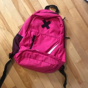 Pink Nike backpack in good used condition